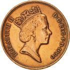 United Kingdom / Two Pence 1990 - obverse photo