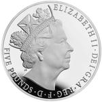 United Kingdom / Five Pounds 2015 Longest Reigning Monarch / Brilliant Uncirculated in presentation folder - obverse photo