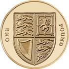 United Kingdom / One Pound 2015 Shield (Fourth Portrait) - reverse photo