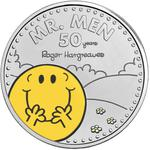 United Kingdom / Five Pounds 2021 Mr. Men - Mr. Happy / Coloured Reverse - reverse photo