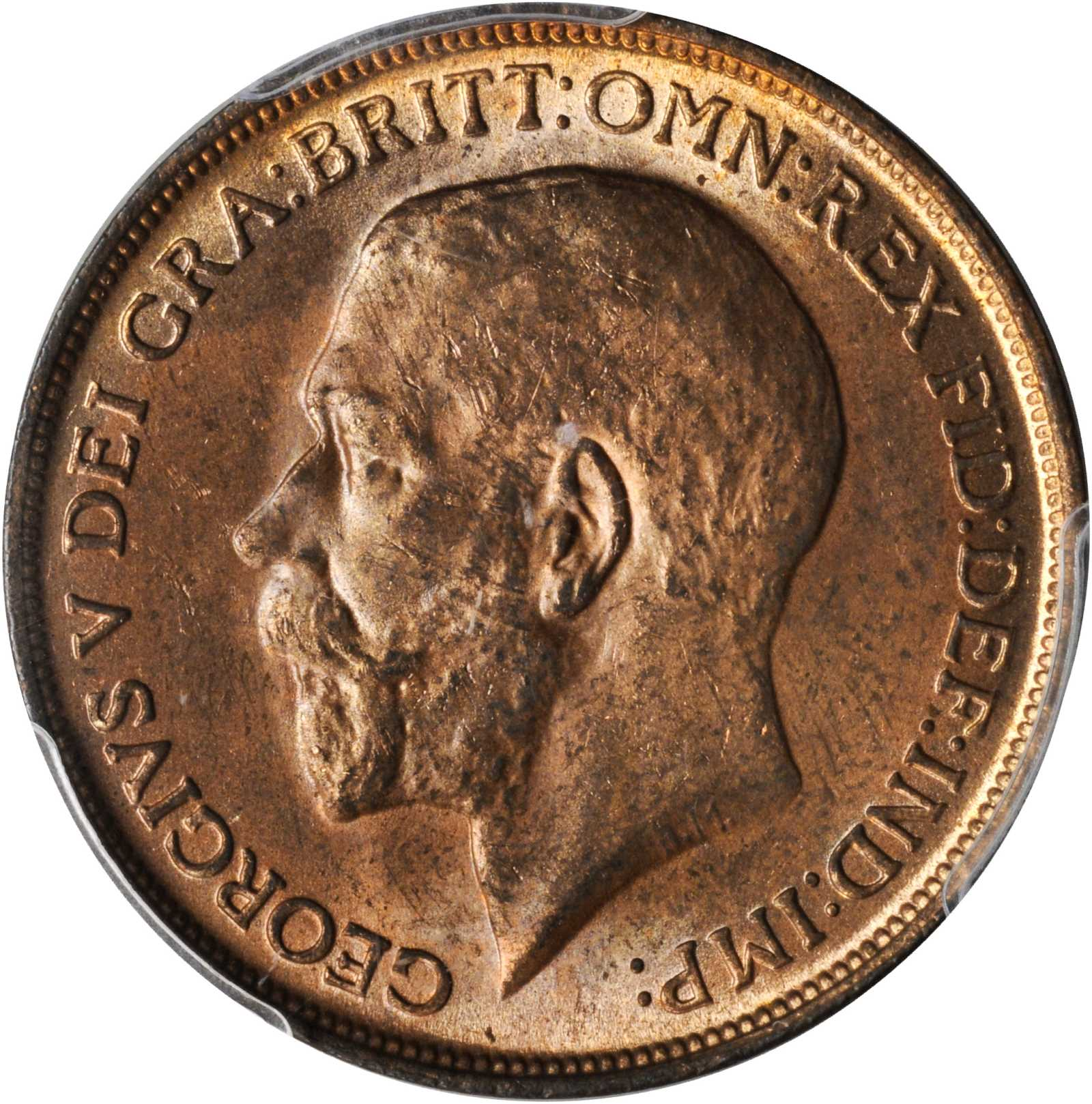 Penny (Pre-decimal): Photo Great Britain 1912-H penny