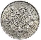 United Kingdom / Two Shillings (Florin) 1959 - reverse photo