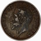 Sixpence 1920 (Debased Silver): Photo Coin - Sixpence, George V, Great Britain, 1920