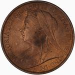 United Kingdom / Penny 1901 - obverse photo