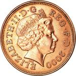 United Kingdom / Two Pence 2000 - obverse photo