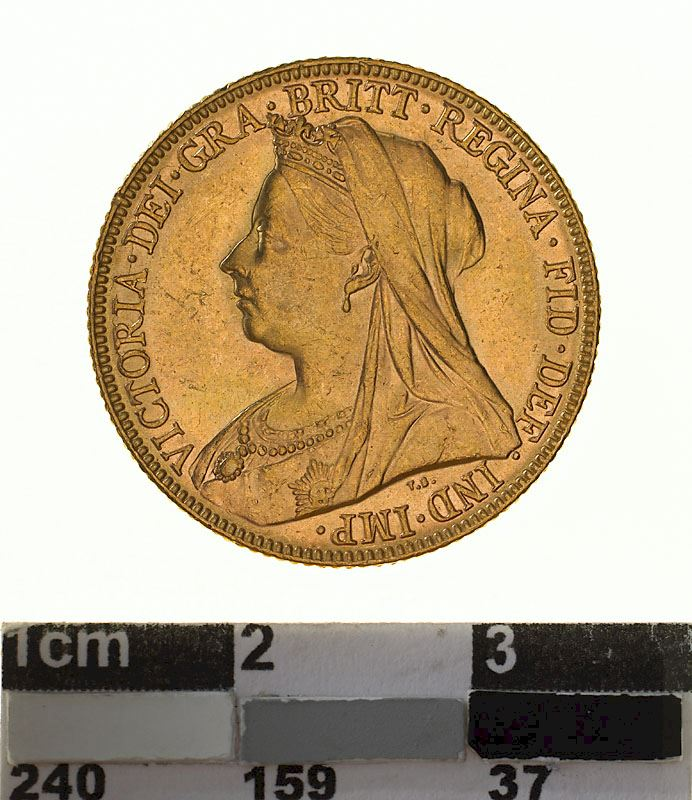 Sovereign 1898: Photo Coin - Sovereign, Victoria, Australia, 1898