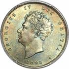 Shilling 1825 Third Reverse: Photo Great Britain 1825 shilling