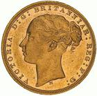 Sovereign 1875: Photo Coin - Sovereign, Victoria, Australia, 1875