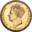 Sovereign 1830: Photo Great Britain 1830 sovereign