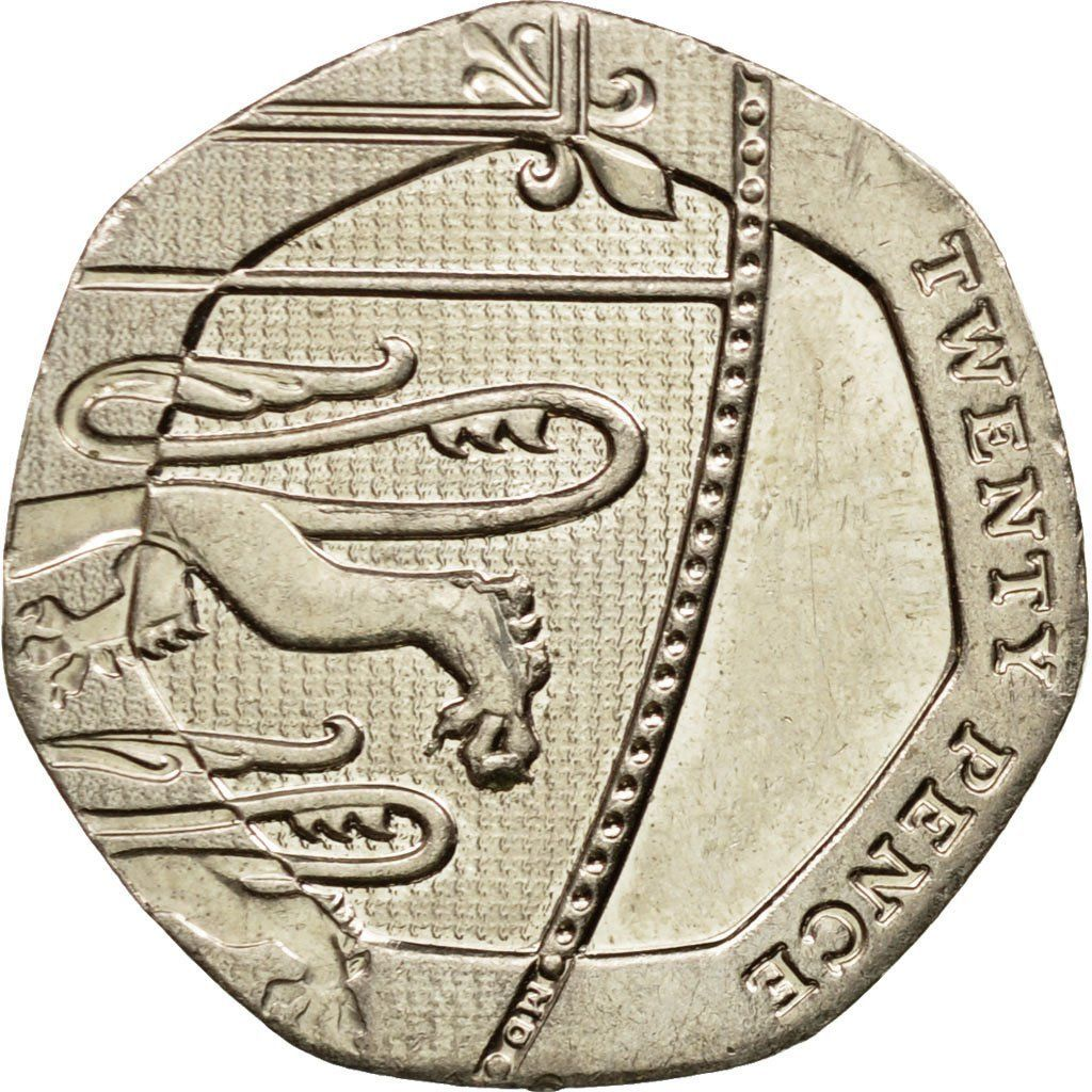 Twenty Pence 2015 (Fourth Portrait): Photo Coin, Great Britain, 20 Pence, 2015