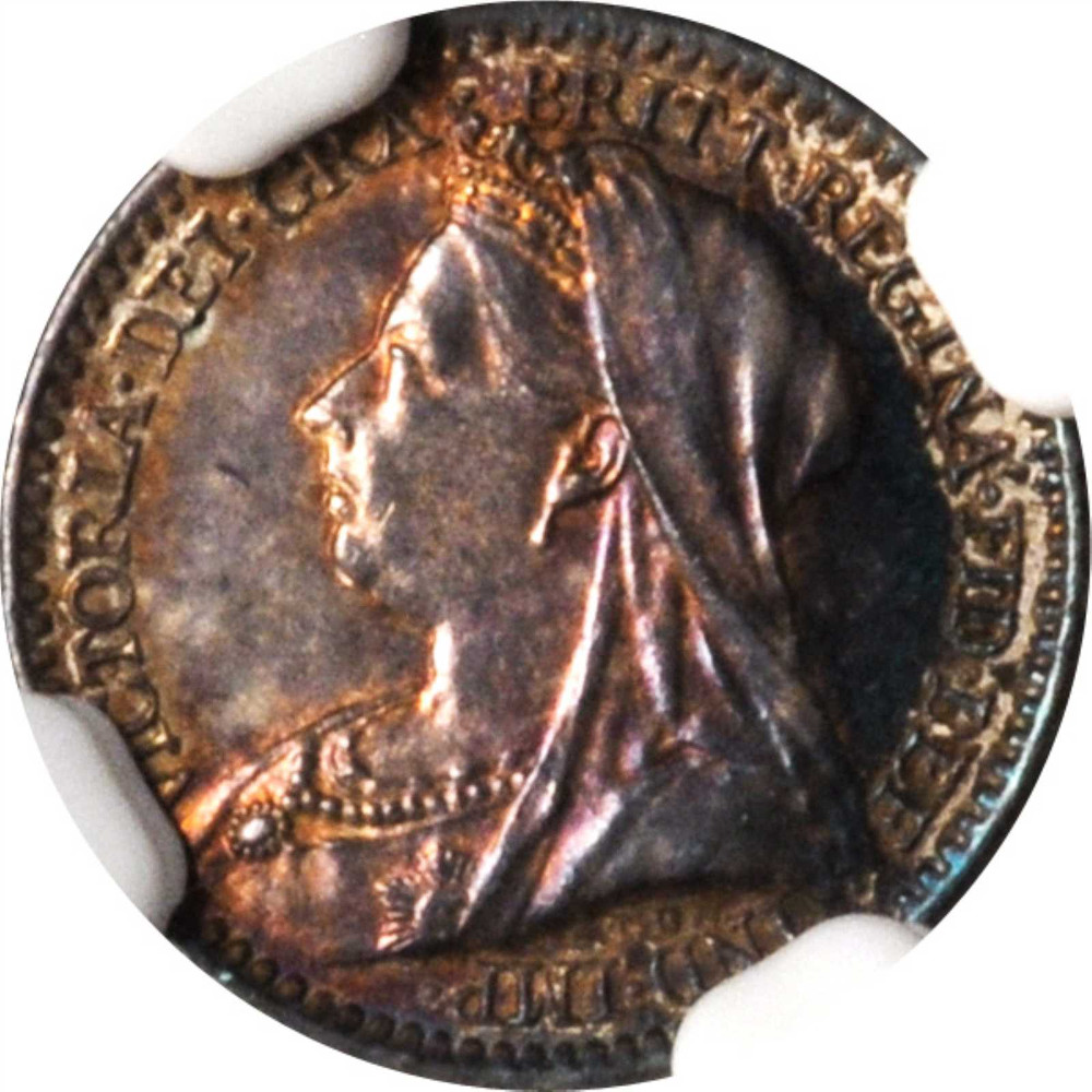 Maundy Penny (Pre-decimal): Photo Great Britain 1893 penny KM-775