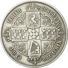 Florin 1857: Photo Silver florin, Great Britain