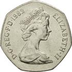 United Kingdom / Fifty Pence - obverse photo
