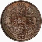 United Kingdom / Florin 1885 - reverse photo
