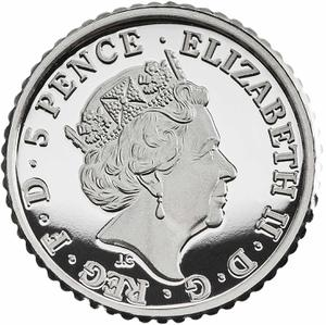 United Kingdom / Silver Fortieth-Ounce (1/40 oz) - obverse photo