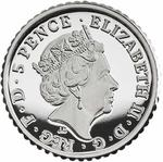 United Kingdom / Silver Fortieth-Ounce 2018 Britannia - obverse photo
