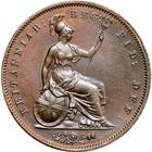 Penny 1853: Photo Great Britain 1853 penny