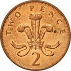 United Kingdom / Two Pence 1992 - reverse photo