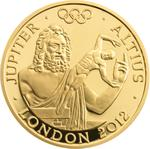 United Kingdom / Gold Ounce 2011 Jupiter - reverse photo