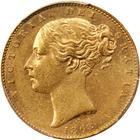 United Kingdom / Sovereign 1868 - obverse photo