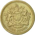 United Kingdom / One Pound 1983 Royal Arms - reverse photo