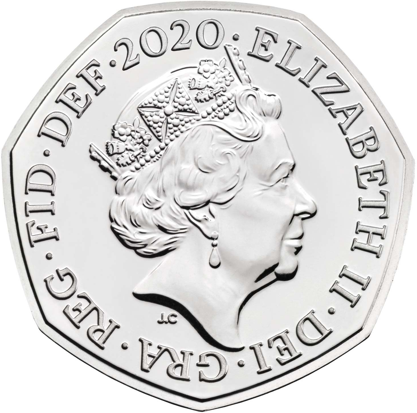 Fifty Pence 2020 Coin From United Kingdom Online Coin Club