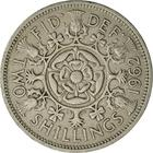United Kingdom / Two Shillings (Florin) 1962 - reverse photo