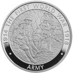 United Kingdom / Five Pounds 2016 Army - reverse photo