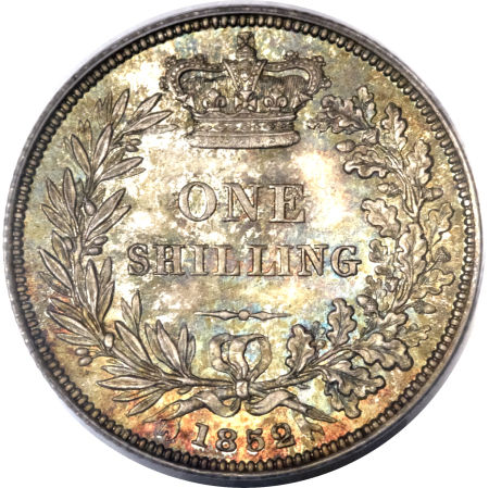 Shilling 1852: Photo Great Britain 1852 shilling