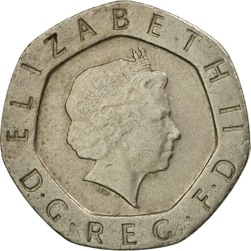 Twenty Pence 1998: Photo Coin, Great Britain, Elizabeth II, 20 Pence, 1998