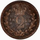 Twopence 1829 (Maundy): Photo Coin - Twopence, George IV, Great Britain, 1829