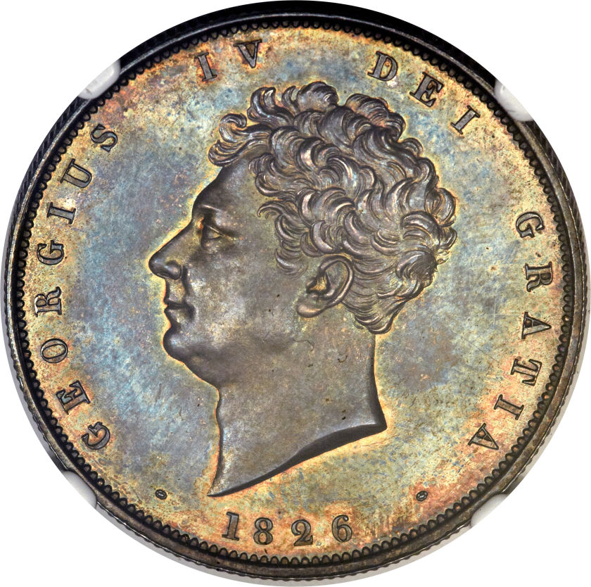 Halfcrown 1826: Photo Great Britain 1826 half crown