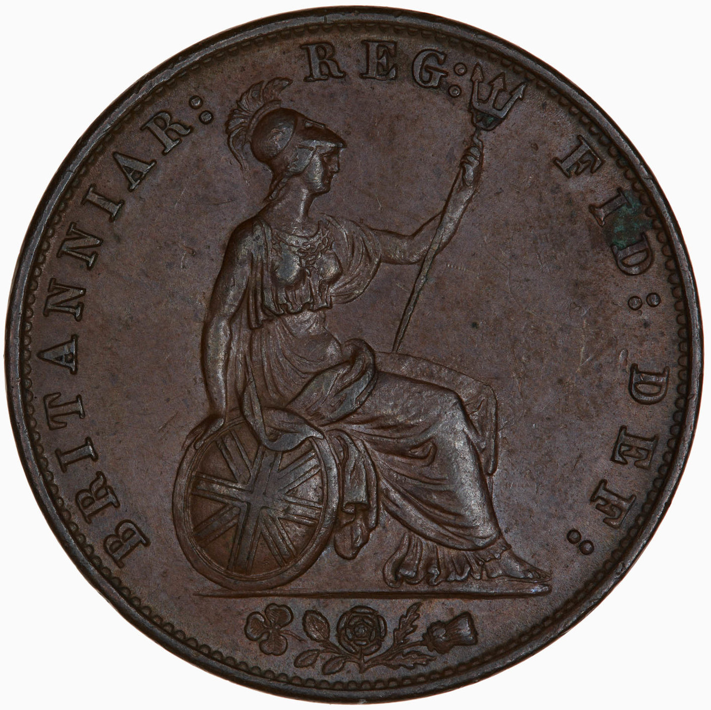 Halfpenny 1859: Photo Coin - Halfpenny, Queen Victoria, Great Britain, 1859