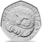 United Kingdom / Fifty Pence 2016 Mrs. Tiggy-Winkle / Brilliant Uncirculated - reverse photo