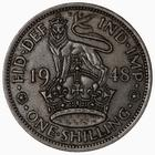Shilling 1948 English: Photo Coin - Shilling, George VI, Great Britain, 1948
