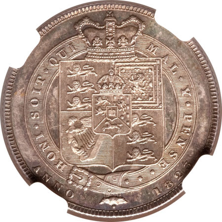 Shilling 1823: Photo Great Britain 1823 shilling