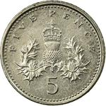 United Kingdom / Five Pence 2007 - reverse photo