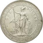 United Kingdom / One Dollar 1901 - obverse photo