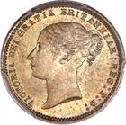 Sixpence 1871: Photo Great Britain 1871 6 pence