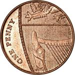 United Kingdom / One Penny 2016 - reverse photo
