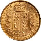 United Kingdom / Sovereign 1873 Shield - reverse photo