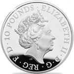 United Kingdom / Silver Five Ounces 2017 Sapphire Jubilee - obverse photo