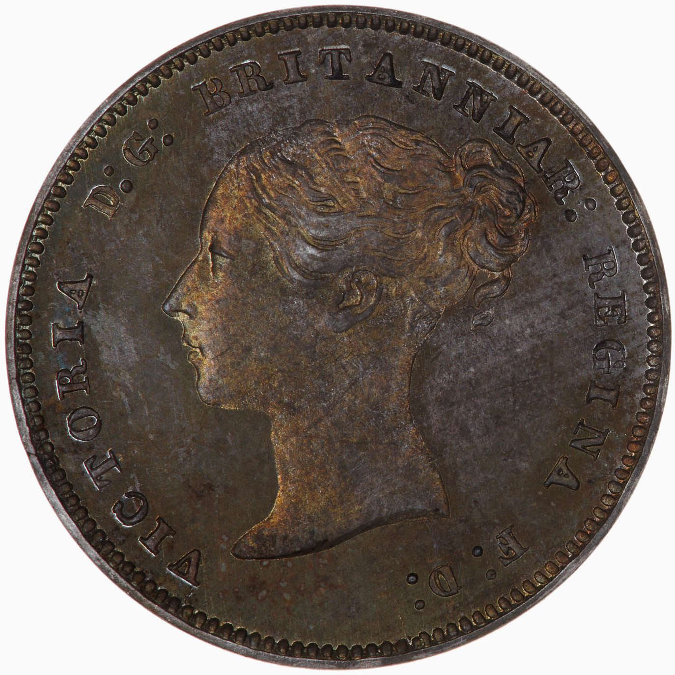 Fourpence 1877 (Maundy): Photo Coin - Groat (Maundy), Queen Victoria, Great Britain, 1877
