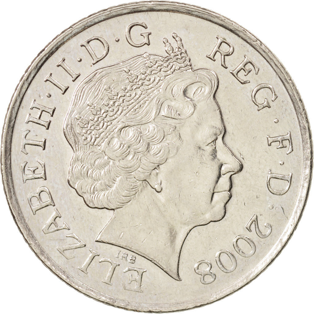 Ten Pence: Photo Great Britain, Elizabeth II, 10 Pence, 2008