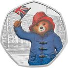 United Kingdom / Fifty Pence 2018 Paddington Bear at Buckingham Palace / Silver Proof FDC - reverse photo