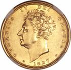 United Kingdom / Sovereign 1827 - obverse photo