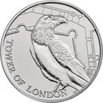 United Kingdom / Five Pounds 2019 Legend of the Ravens / Brilliant Uncirculated in presentation folder - reverse photo