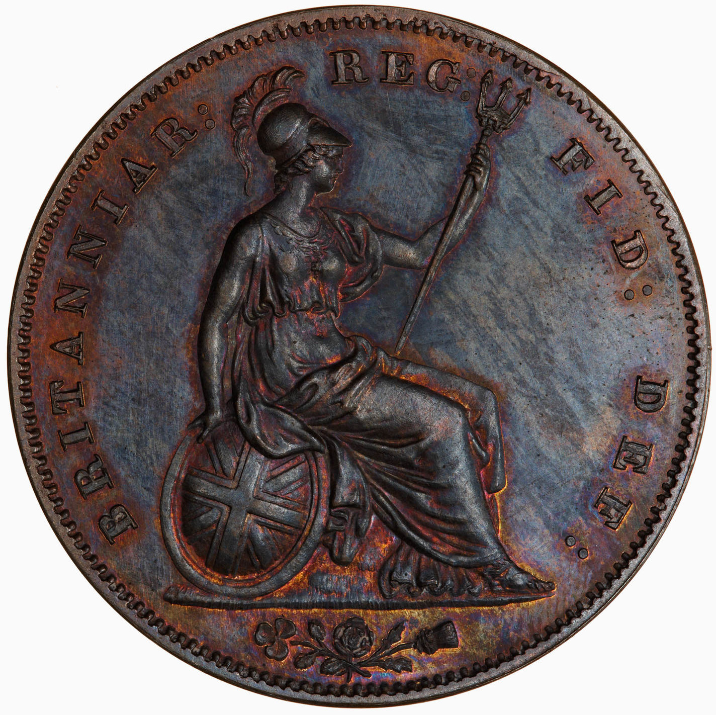 Penny 1859: Photo Proof Coin - Penny, Queen Victoria, Great Britain, 1859