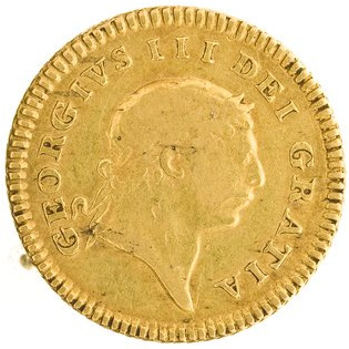 Third Guinea 1804: Photo Gold 1/3 guinea, Great Britain