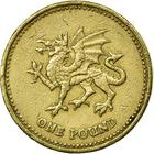 United Kingdom / One Pound 2000 Dragon - reverse photo